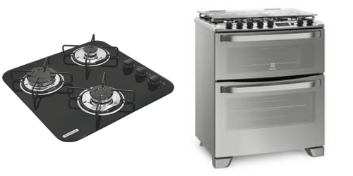 Faça a sua escolha: fogão ou cooktop?