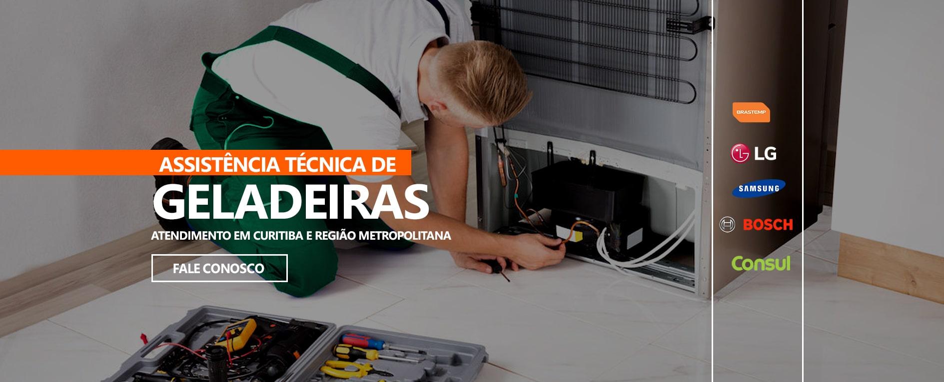 CONSERTO DE GELADEIRA E FREEZER EM CURITIBA